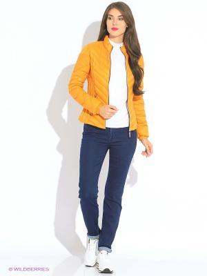 Куртка Trussardi. Цвет: желтый