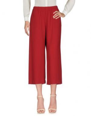 Повседневные брюки SHIRTAPORTER. Цвет: красный