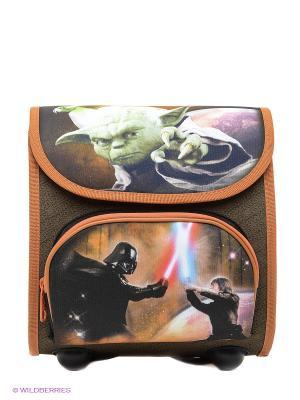 Рюкзачок детский Star Wars Scooli. Цвет: черный, оранжевый
