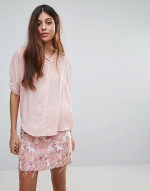 Louche Блузка Farrow. Цвет: розовый