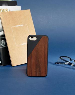 Native Union Деревянный чехол для iPhone 7 Premium. Цвет: мульти