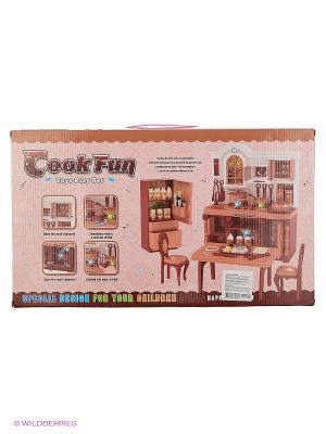 Набор Кухня VELD-CO. Цвет: розовый