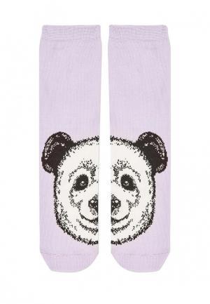 Носки Topshop. Цвет: фиолетовый