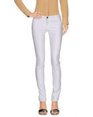 Повседневные брюки FLY GIRL. Цвет: белый