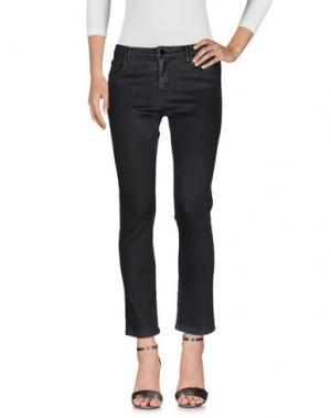 Джинсовые брюки 75 FAUBOURG. Цвет: черный