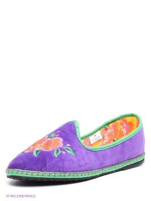 Тапочки De Fonseca. Цвет: фиолетовый