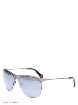 Солнцезащитные очки Enni Marco. Цвет: темно-серый