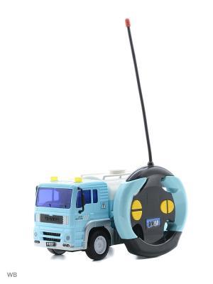 Машина р/у грузовик-автоцистерна Drift. Цвет: голубой