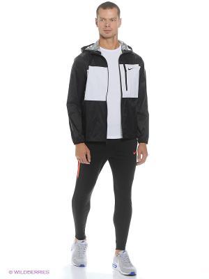 Брюки STRIKE PNT WP WZ Nike. Цвет: черный, коралловый