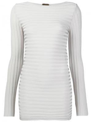Блузка с длинными рукавами Pepa Pombo. Цвет: телесный