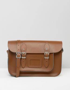 Leather Satchel Company Портфель. Цвет: коричневый