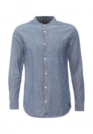 Рубашка джинсовая DC Shoes. Цвет: синий