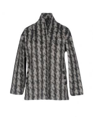 Пальто DIXIE. Цвет: светло-серый