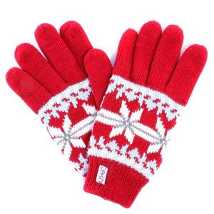 Перчатки женские  Maggie Glove Cherry Dakine. Цвет: красный
