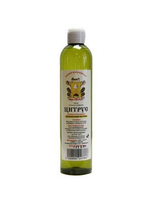 Ароматизатор на основе эфирного масла Цитрусовый 350мл. Метиз. Цвет: коричневый