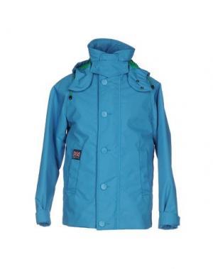 Куртка HENRI LLOYD. Цвет: лазурный