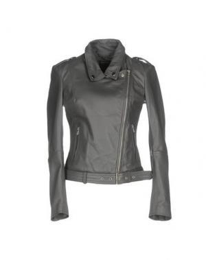 Куртка MUUBAA. Цвет: серый