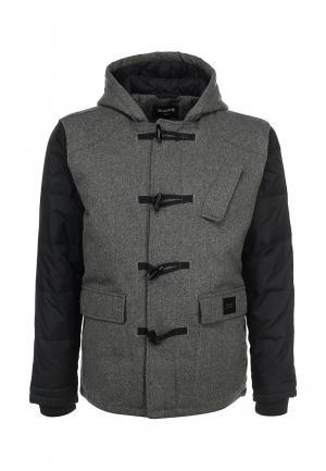 Куртка утепленная Nixon. Цвет: серый
