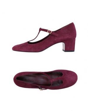 Туфли AVRIL GAU. Цвет: красно-коричневый