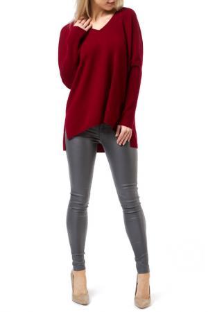 Пуловер Scott & London Cashmere. Цвет: bordeaux