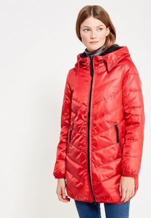 Куртка утепленная Vitario. Цвет: красный