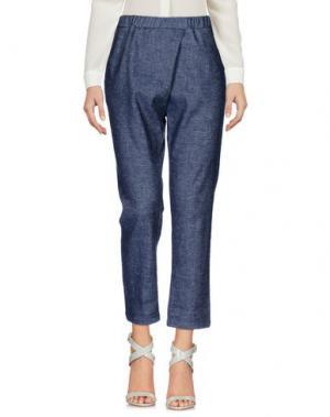 Повседневные брюки ES'GIVIEN. Цвет: синий