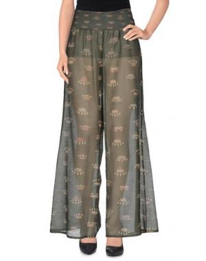 Повседневные брюки GRAZIA'LLIANI SOON. Цвет: зеленый-милитари