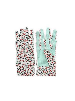 Перчатки садовые Inbloom. Цвет: белый, зеленый