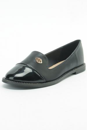 Туфли SP. Цвет: черный