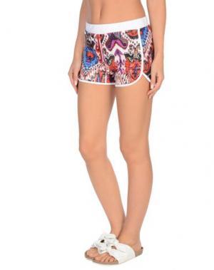 Пляжные брюки и шорты JUST CAVALLI BEACHWEAR. Цвет: красный