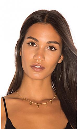 Чокер с амулетом miraculous Natalie B Jewelry. Цвет: металлический золотой