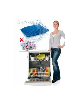 Мешочек для мытья посуды в посудомоечной машине BRADEX. Цвет: синий