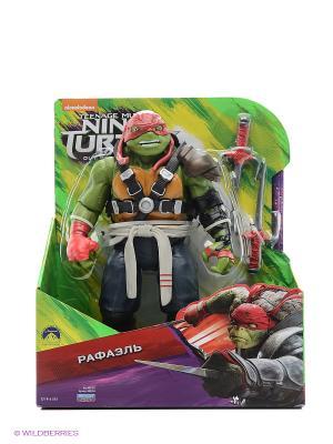 Фигурка Черепашки-ниндзя 28 см, Рафаэль Playmates toys. Цвет: зеленый, серый, красный