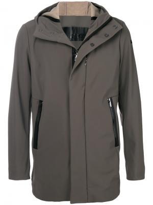Термокуртка с капюшоном Rrd. Цвет: серый