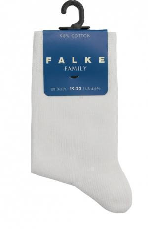 Носки из хлопка Falke. Цвет: белый