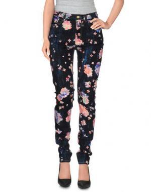 Джинсовые брюки CALLA. Цвет: черный