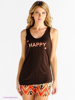 Домашний костюм PENYE MOOD. Цвет: коричневый, оранжевый