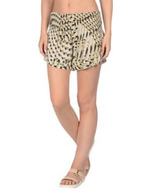 Пляжные брюки и шорты MISS BIKINI. Цвет: бежевый