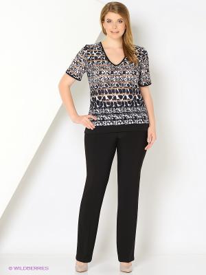 Блуза BALSAKO. Цвет: черный