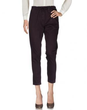 Повседневные брюки MYTHS. Цвет: темно-фиолетовый