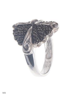 Кольцо Мастер Клио. Цвет: черный, серебристый