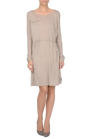 Платье VINTAGE 55. Цвет: бежевый