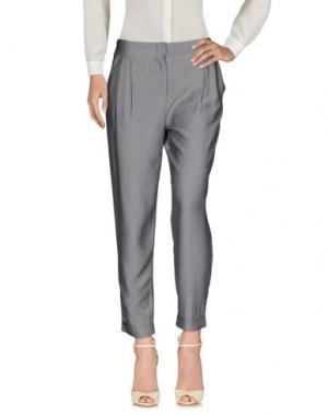 Повседневные брюки FRNCH. Цвет: серый