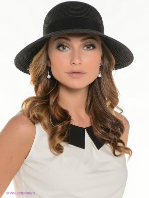 Шляпа Fabretti. Цвет: антрацитовый