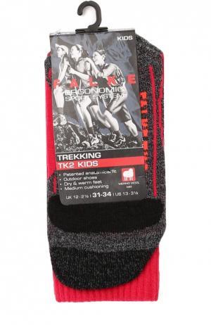 Спортивные носки с шерстью Falke. Цвет: розовый