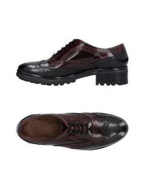 Обувь на шнурках SAX. Цвет: красно-коричневый