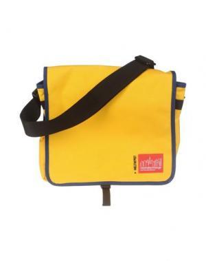 Сумка через плечо MELTIN POT. Цвет: желтый
