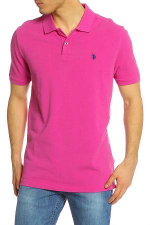 Футболка U.S. Polo Assn.. Цвет: 973 розовый