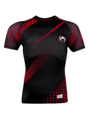 Футболка Venum Rapid Black/Red S/S. Цвет: черный, красный
