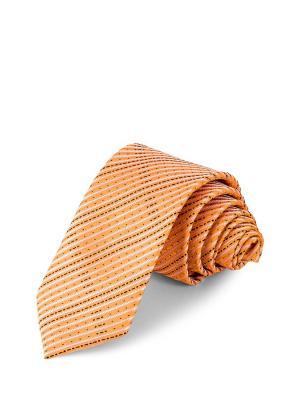Галстук CASINO. Цвет: оранжевый